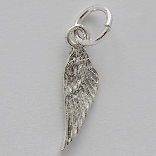 Silber-Charm-Flügel