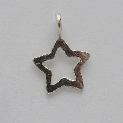 Silber-Charm-Stern-1